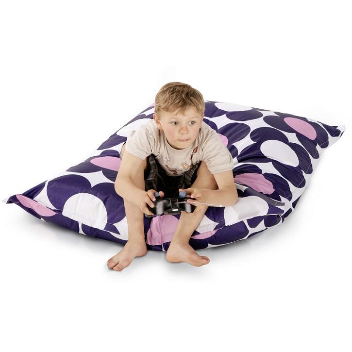 sitzkissen junior nightflower rosa sitting center. Black Bedroom Furniture Sets. Home Design Ideas