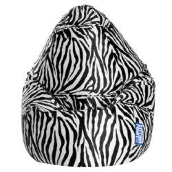 Beanbag AFRO Zebra