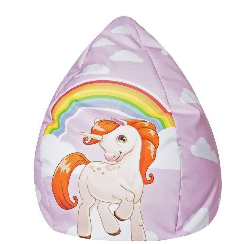 Einhorn Unicorn Sitzsack Kindersitzsack Fabelwesen Kids