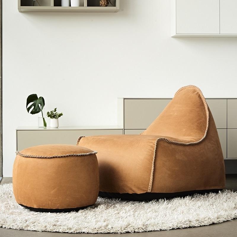 Retroit dunes luxussessel echtleder indoor d nisches for Sessel scandi