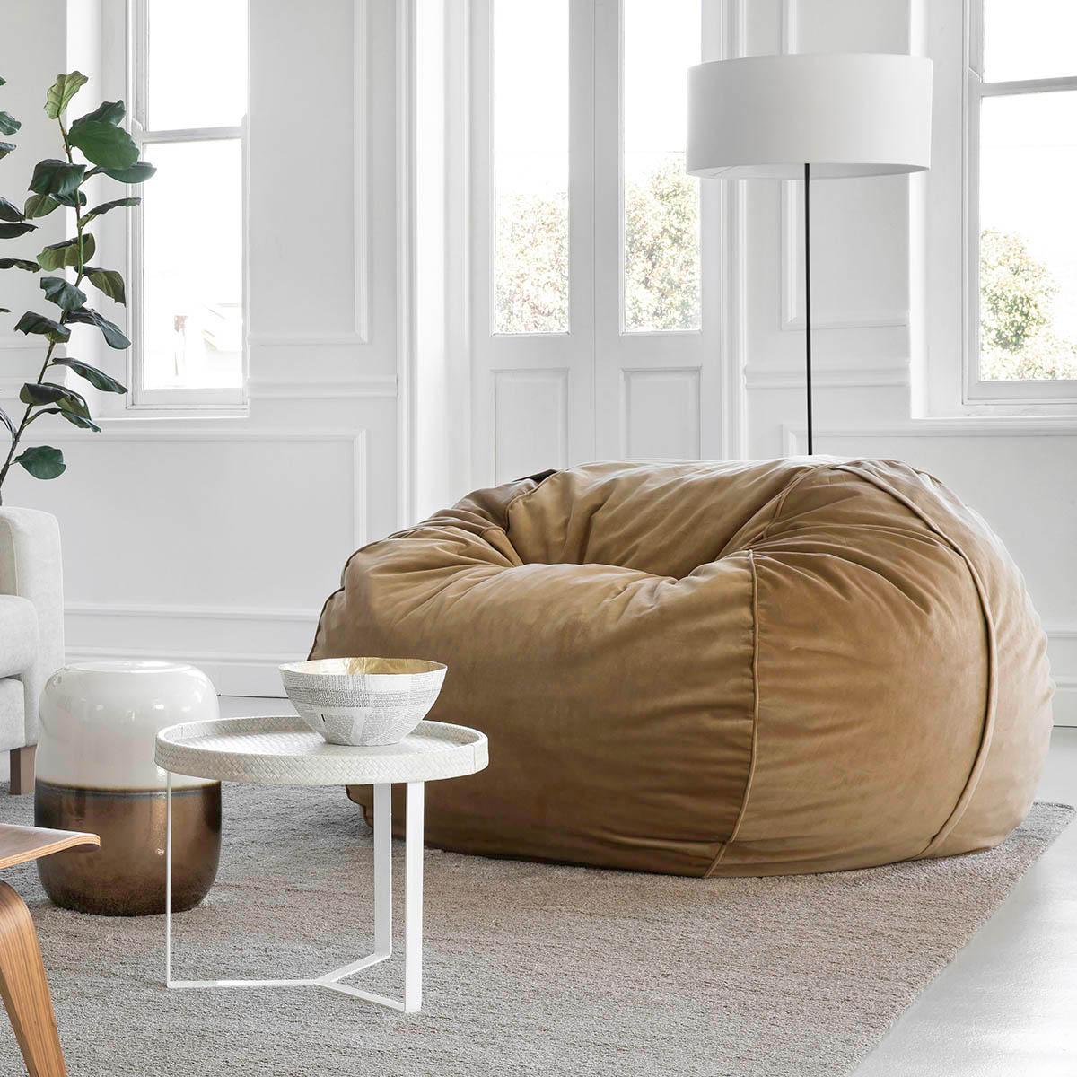 sitzsack beige latest sitzsack evolution sofa outdoor. Black Bedroom Furniture Sets. Home Design Ideas