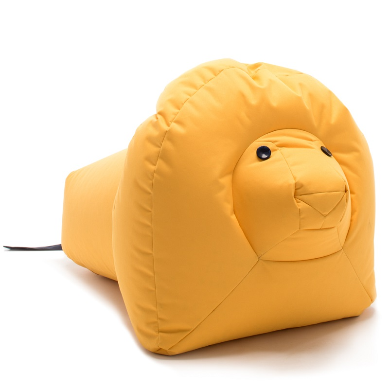 happy zoo kindersitzs cke l we nora jung bunt frisch. Black Bedroom Furniture Sets. Home Design Ideas