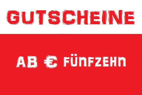 Gutscheine für € 15,- | € 25,- | € 50,- | € 75,- | € 100,- bei SITTING-CENTER