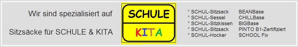 Ihr Spezialist für Schul & Kita - Sitzsäcke & Möbel