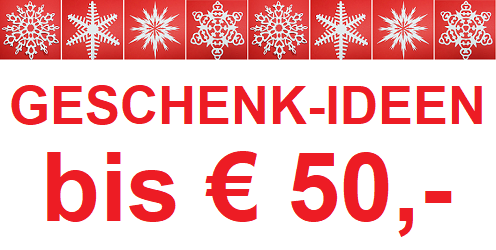 Geschenk-Ideen bis € 50,-